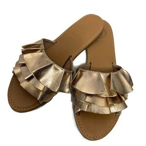Guess Ruffle Sandals